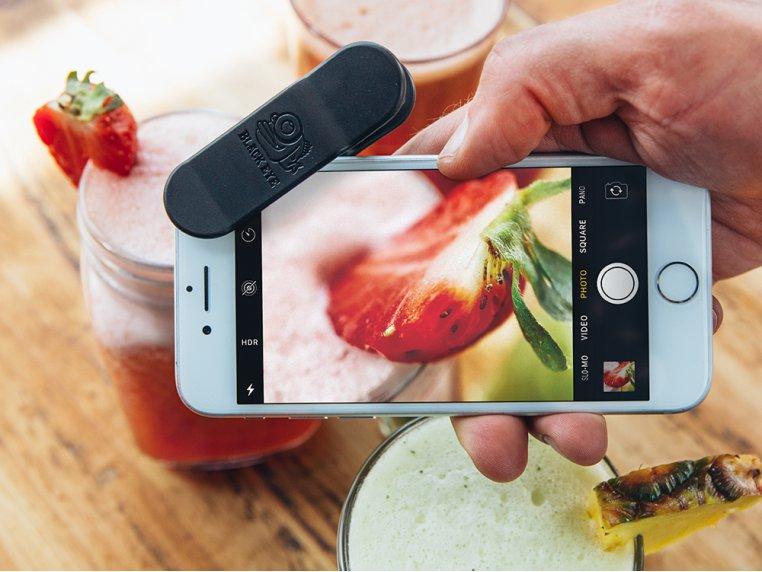 Kit d'objectifs grand angle et macro pour smartphone