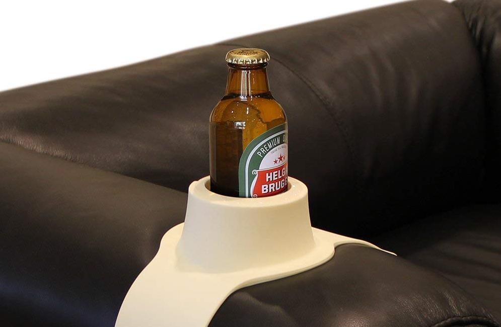 Porte gobelet et canette pour canapé
