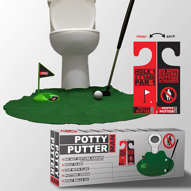 acheter jeu mini golf toilette