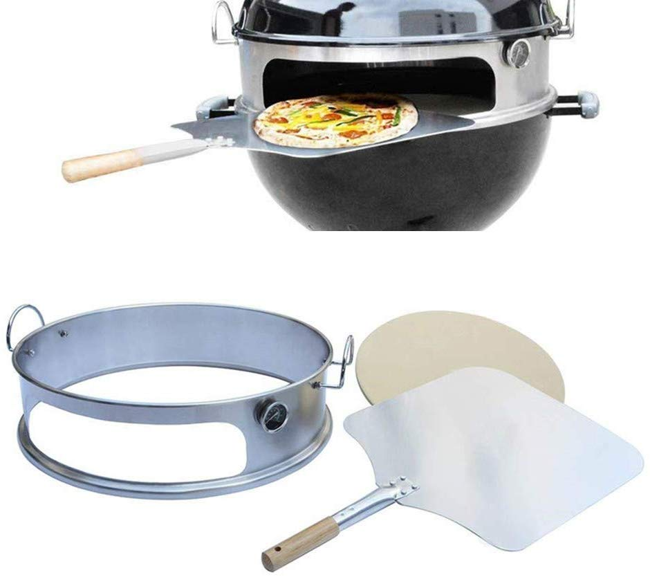 faire des pizzas au barbecue - kit - weber